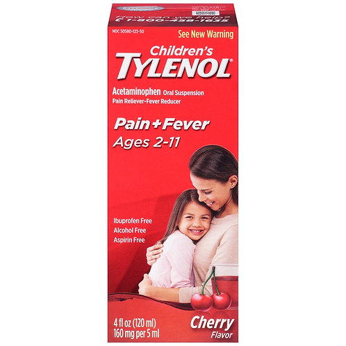 *TYLENOL CHILD SUSPSN 4OZ CHR