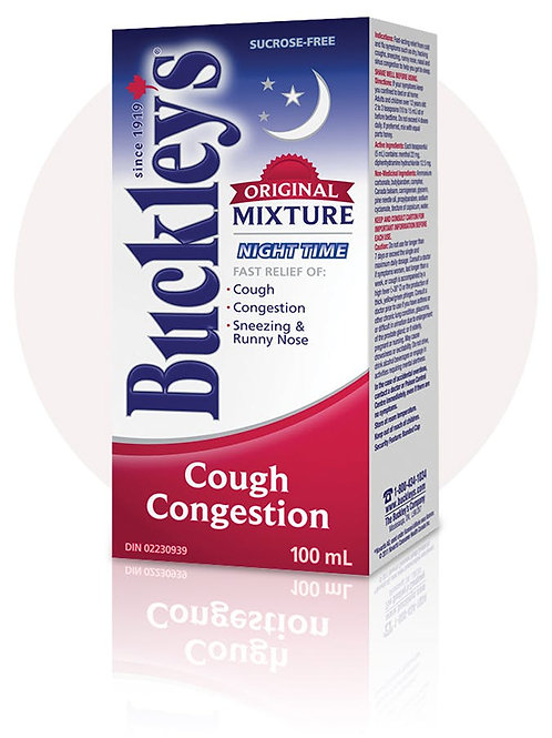 *BUCKLEY'S MIXT COU/CONG 100ML