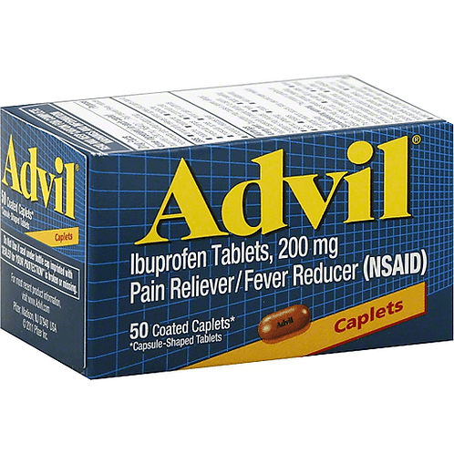 ADVIL CAPLET  50