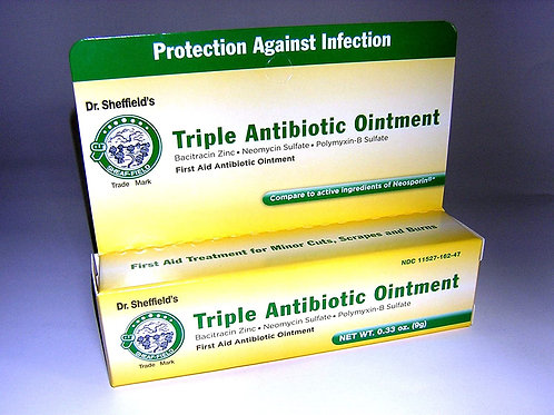 TRIPLE ANTIBIOTIC OINT DR. SH