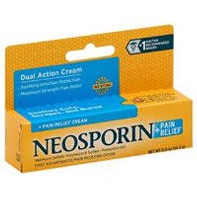 NEOSPORIN PLUS CRM 0.50Z MAX