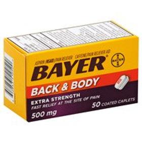 BAYER BACK & BDY EX/ST CAPL 50