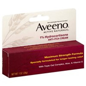 *AVEENO ANTI-ITCH CREAM1% HYDR