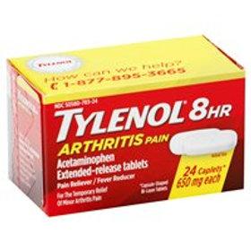 TYLENOL ARTHRITIS CAPLET  24
