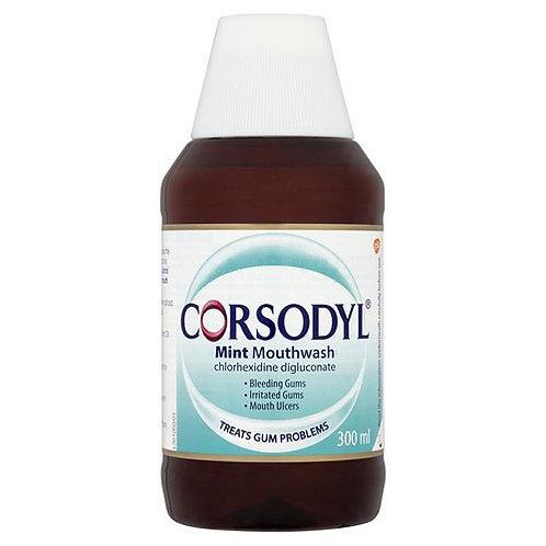 CORSODYL MOUTHWASH 300 ML MINT