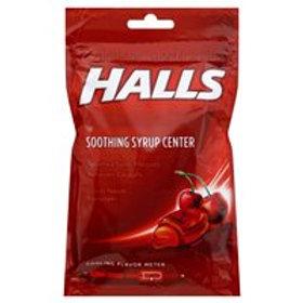 *HALLS CHERRY SYRUP DROPS 25CT