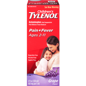 *TYLENOL CHILD SUSPSN 4OZ GRP