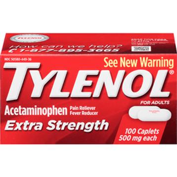 *TYLENOL X/STR CAPLET  24