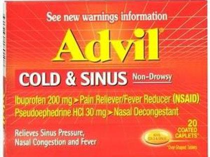 *ADVIL COLD &SINUS 20`S
