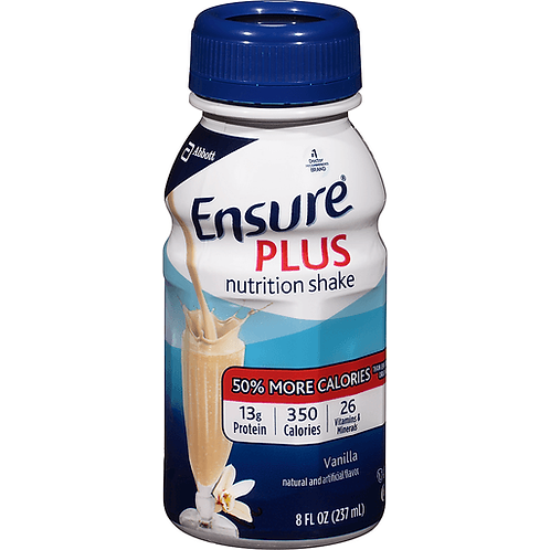 ENSURE PLUS VANILLA 8 OZ