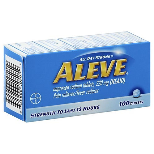 *ALEVE 100 TABLETS