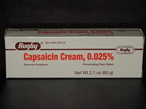CAPSAICIN CREAM 0.025%