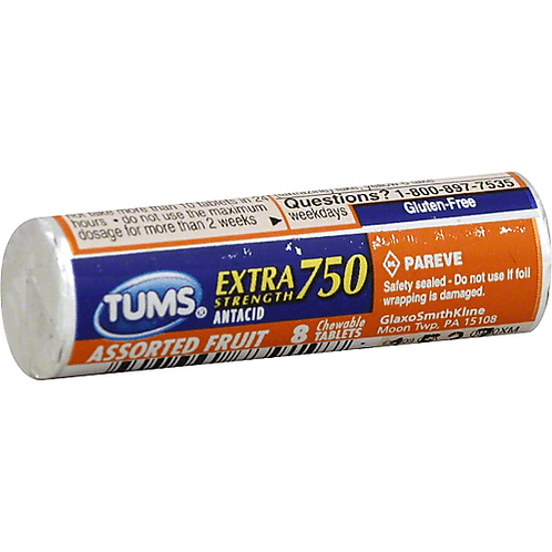 TUMS E/X ASST FRUIT 8'S