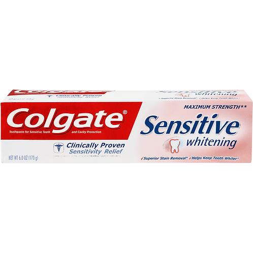 COLGATE SENSITIVE MAX STR 6OZ
