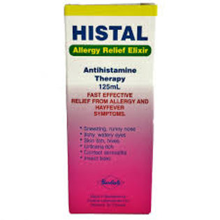 HISTAL ALLERGY ELIXIR 125ML