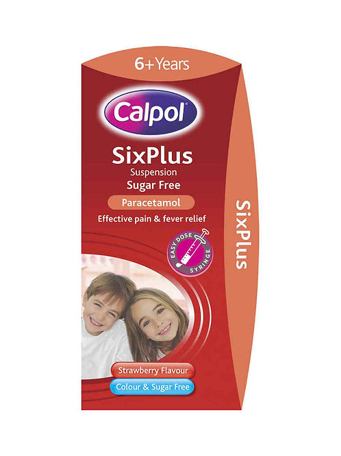 *CALPOL SIX PLUS S/F 100ML