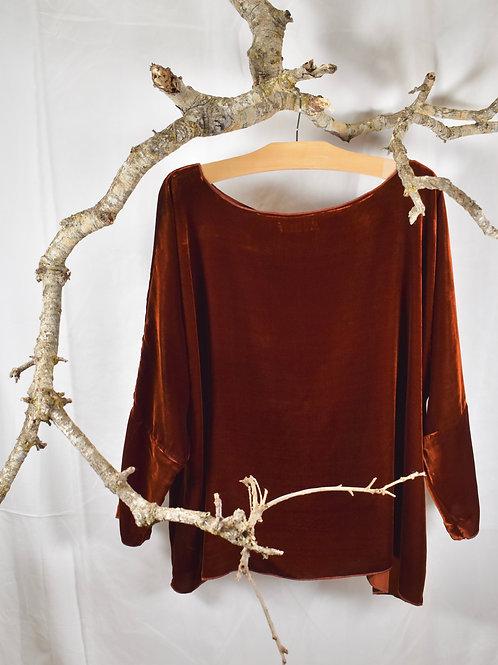 v203 wide neck oversize top