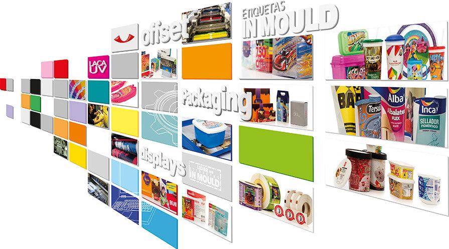 fleximpress, etiquetas in mould, packaging, offset