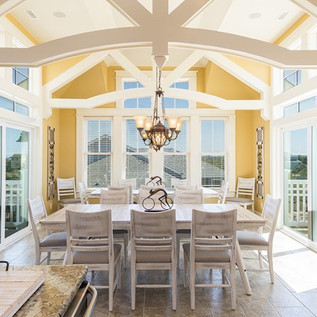 Custom Dining Room by Todd Coyle Construction