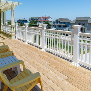 Spacious Deck By Todd Coyle Construction