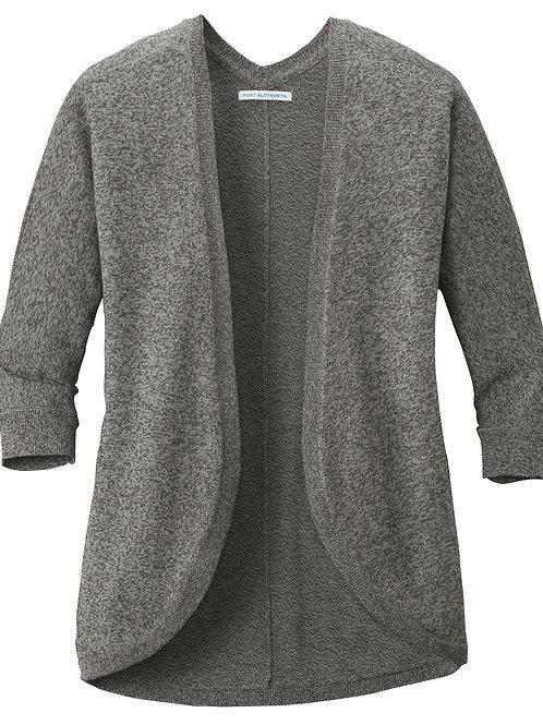 ITEM # VC035: Ladies Marled Cocoon Sweater