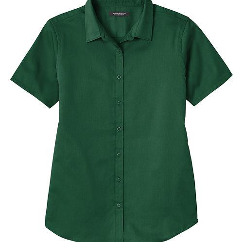 ITEM # VC028: Ladies Twill Shirt