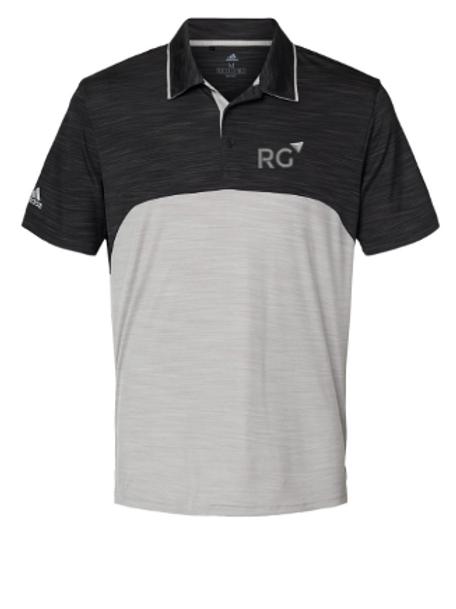 Adidas - Colorblocked Melange Sport Shirt