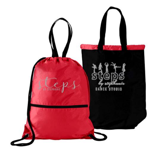 ITEM #VCS15: Reversible Steps Bag