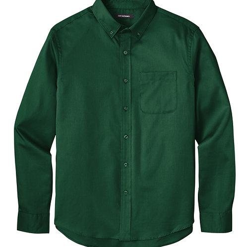 ITEM # VC027: Long Sleeve Twill Shirt