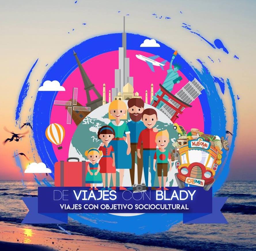 DE VIAJES CON BLADY