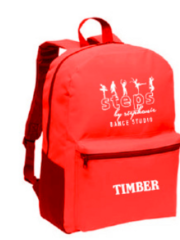 ITEM #VCS14: Red Backpack