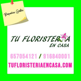TU FLORISTERIA EN CASA