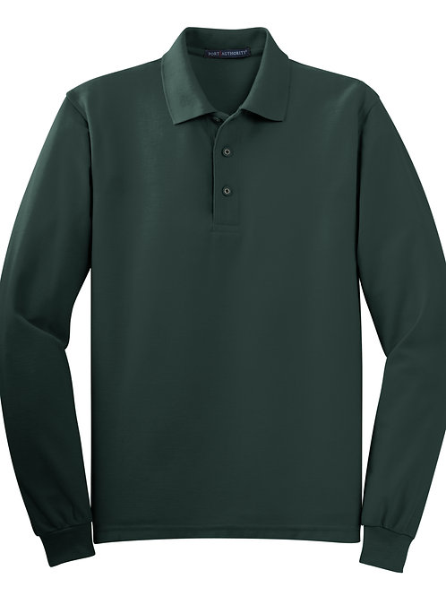 ITEM # VC014:Long Sleeve Polo