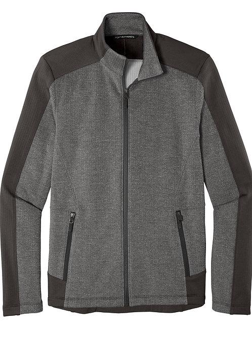 ITEM # VC031: Grid Fleece Jacket