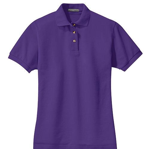 ITEM # VC015: Ladies Heavyweight Cotton Polo