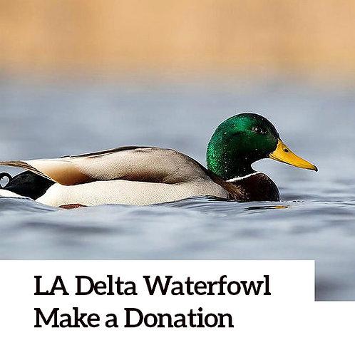 LA Delta Waterfowl Chapter Donation