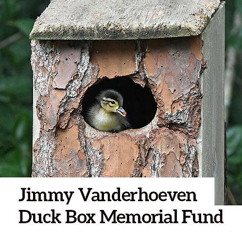 Jimmy Vanderhoeven Memorial Donation