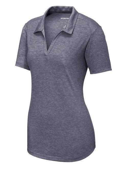 ITEM # VC017: Ladies Tri-Blend Wicking Polo