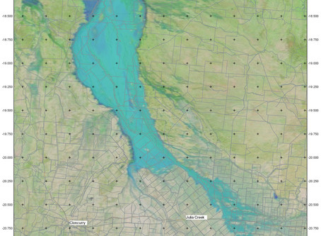 Gulf Flood Update. Hard to comprehend