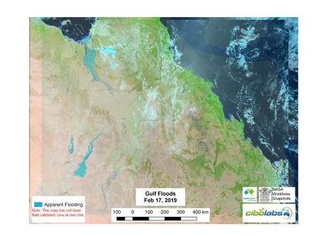 QLD Gulf Flood Update - Feb 17, 2019