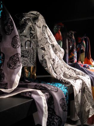 silk scarf design Marcel Wanders x Marks & Spencer