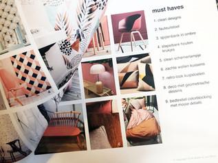Interior decoration trend report Euretco