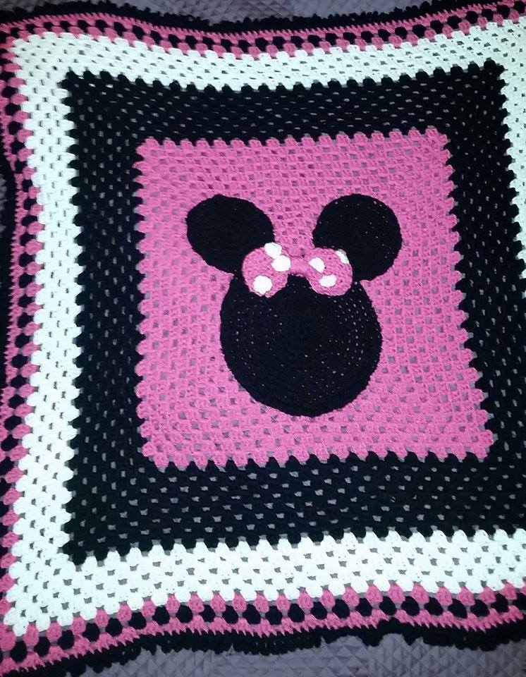 Minnie Inspired Blanket