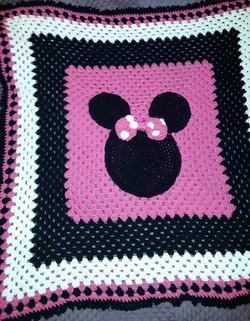 Minnie Inspired Blanket