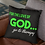 Thumbnail: For the Love of GOD Accent Pillow