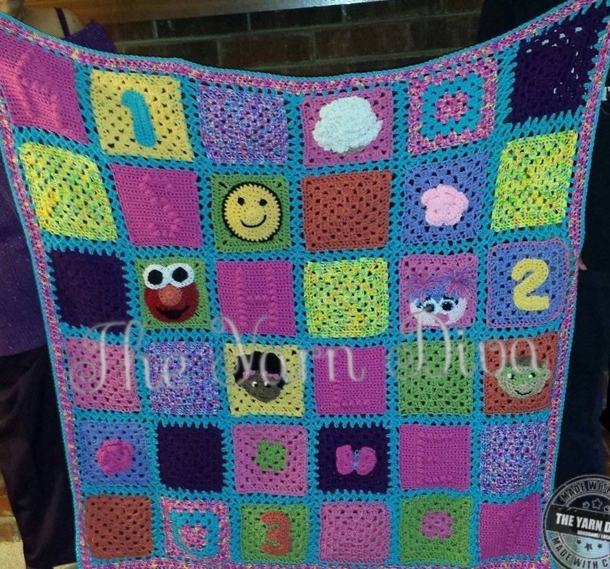 Custom Block Blanket
