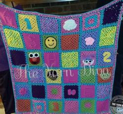 Custom Block Blanket