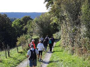 Marche nordique de l'ASC de Tarcenay Foucherans