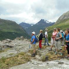 marche nordique en montagne