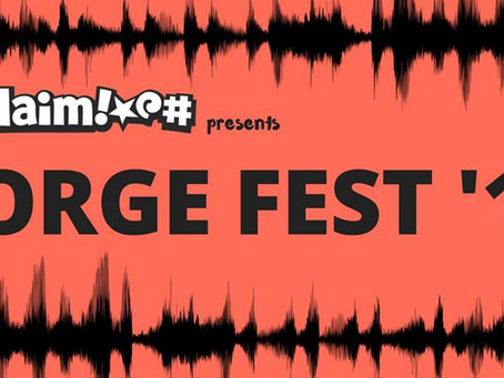 Exclaim! presents Forge Fest 2018: All the cool kids will be there and you're invited